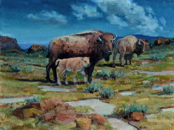 Jerry Antolik bison